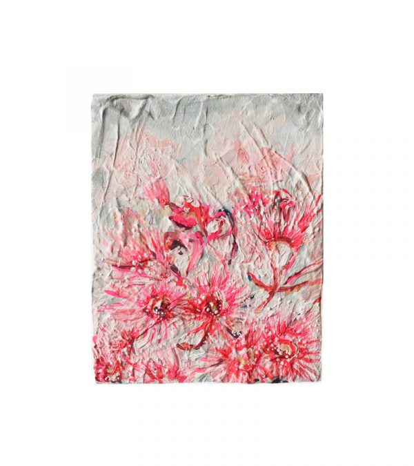 'Gum Blossoms' - abstract floral painting by Chloé Newby